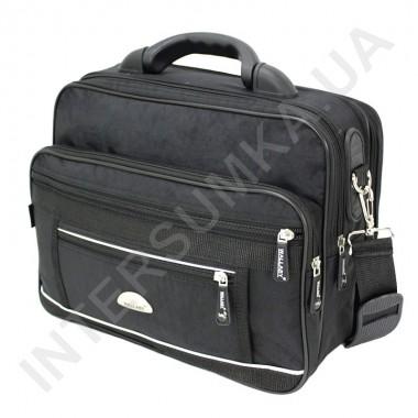 Заказать сумка мужская полукаркас с пластмасовой ручкой Wallaby 2513 чёрная в Intersumka.ua