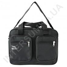 сумка мужская одно отделение Wallaby 2610 чёрная