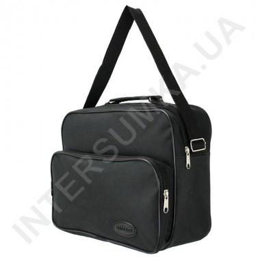 Заказать сумка мужская тканевая на одно отделение Wallaby 2612 чёрная в Intersumka.ua