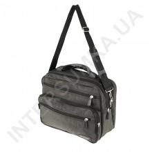 сумка чоловіча на два відділення з пластмасовою ручкою Wallaby 2653 хакі
