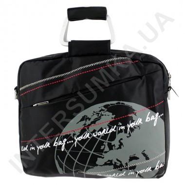 """Заказать сумка для ноутбука 15,4-15,6"""" с металлическими ручками Wallaby JK1-06 чёрная в Intersumka.ua"""