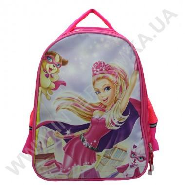 Заказать рюкзак детский YO с ортопедической спинкой 114 барби розовый на 2 отдела