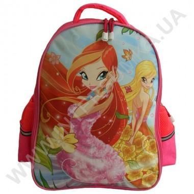 Заказать рюкзак детский YO с ортопедической спинкой 114 Winx ярко-розовый на 2 отдела в Intersumka.ua