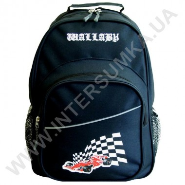 Заказать рюкзак Wallaby 1151 накатка гонка черный