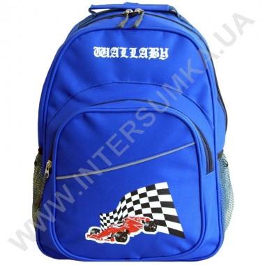 Заказать рюкзак Wallaby 1151 накатка гонка электрик (ярко синий)