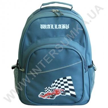 Заказать рюкзак Wallaby 1151 накатка гонка серый