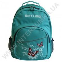 рюкзак Wallaby 1150 накатка метелики м'ятний