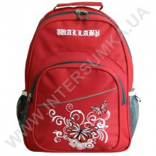 рюкзак Wallaby 1150 накатка метелики червоний