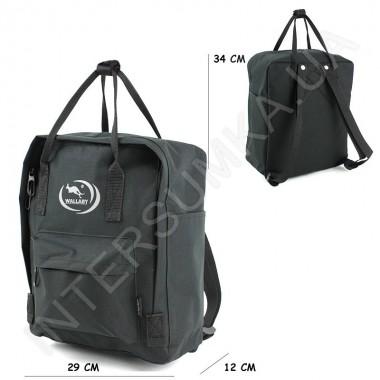 Заказать рюкзак Wallaby 117 чёрный в Intersumka.ua