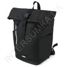 рюкзак ролл - топ Wallaby 1193 чёрный
