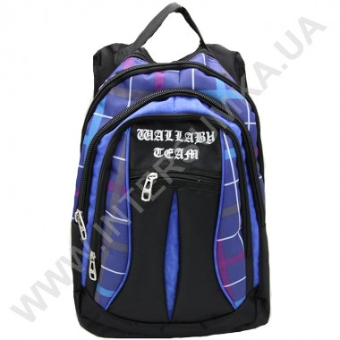 Заказать рюкзак Wallaby 127blue