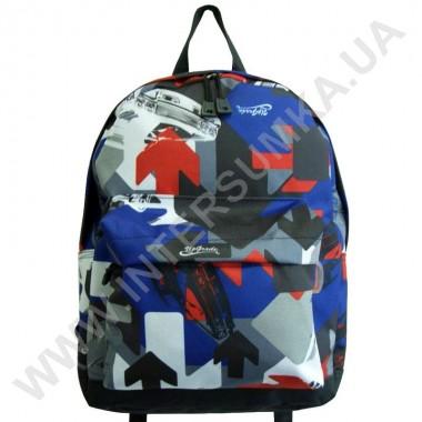 Заказать рюкзак молодежный Wallaby 1353 черный-44