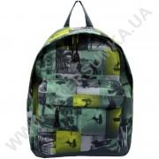 рюкзак молодежный Wallaby 1353 зеленый
