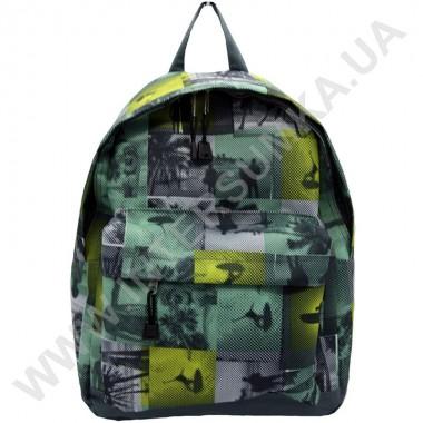 Заказать рюкзак молодежный Wallaby 1353 зеленый