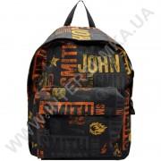 рюкзак молодежный Wallaby 1353 черный JS