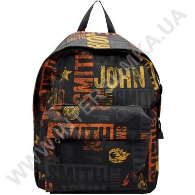 Заказать рюкзак молодежный Wallaby 1353 черный JS в Intersumka.ua