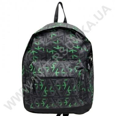 Заказать рюкзак молодежный Wallaby 1353 зеленые стрелки