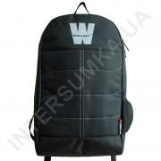 городской рюкзак Wallaby 149 чёрный с ортопедической спинкой