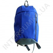 рюкзак городской молодежный Wallaby 151 ярко-синий с серой отделкой