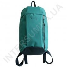 рюкзак городской молодежный Wallaby 151 мятный с серой отделкой