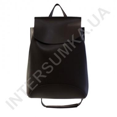 Заказать Женский рюкзак Wallaby 174486 чёрный ЭКОКОЖА в Intersumka.ua