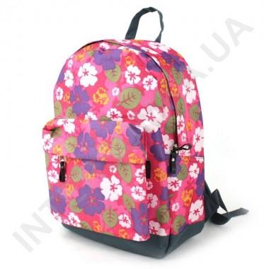 Заказать рюкзак молодежный Wallaby 1354 розовый цветочек в Intersumka.ua