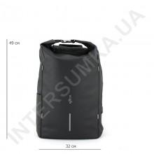 міський рюкзак-протикрадій EBOX 96215_black з usb виходом