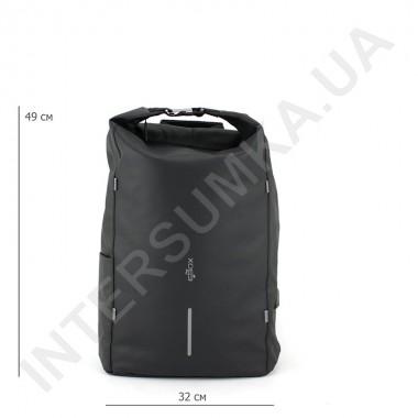 Заказать городской рюкзак-антивор EBOX 96215_black с usb выходом в Intersumka.ua