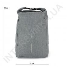 міський рюкзак-протикрадій EBOX 96215_grey з usb виходом