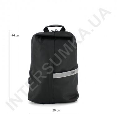 Заказать городской рюкзак EBOX 96315_black водонепроницаемый в Intersumka.ua