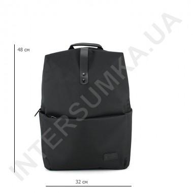 Заказать Городской рюкзак EBOX 97215 черный с отделом под ноутбук 17inch в Intersumka.ua