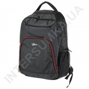 городской рюкзак EBOX 24315-1 чёрный с отделом под ноутбук