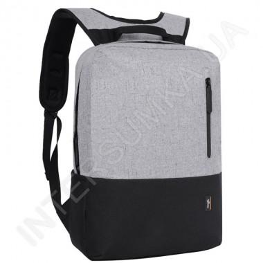 Заказать Городской рюкзак EBOX 69115 серый с отделом под ноутбук