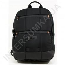 городской рюкзак EBOX 70215_black 2 отдела + отдел под ноутбук