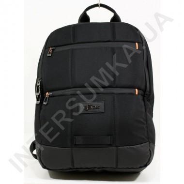 Заказать городской рюкзак EBOX 70215_black 2 отдела + отдел под ноутбук в Intersumka.ua