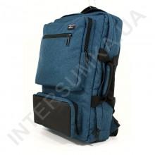 Сумка - рюкзак EBOX 70715_black_blue з відділом під ноутбук