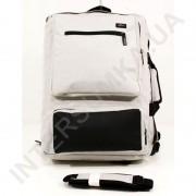 Сумка - рюкзак EBOX 70715_black_grey с отделом под ноутбук