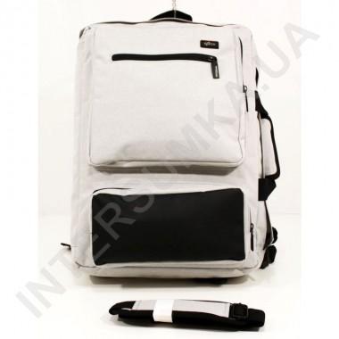 Заказать Сумка - рюкзак EBOX 70715_black_grey с отделом под ноутбук