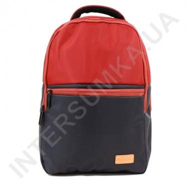 Заказать городской рюкзак EBOX 79215_blue_red 2 отдела + отдел под ноутбук