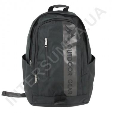 Заказать городской рюкзак Outdoor Gear 6901 чёрный в Intersumka.ua