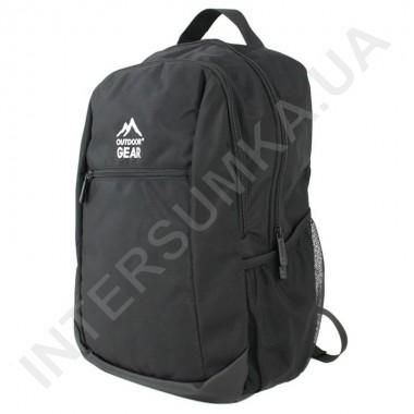 Заказать городской рюкзак Outdoor Gear 7224 чёрный  в Intersumka.ua