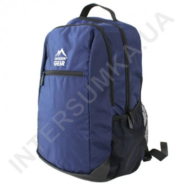 Заказать городской рюкзак Outdoor Gear 7224 синий в Intersumka.ua