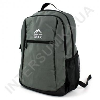 Заказать городской рюкзак Outdoor Gear 7224 серый в Intersumka.ua