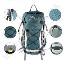 рюкзак велосипедний Wallaby M514blue (40 літрів)