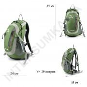 рюкзак велосипедный Wallaby M9727green (14 литров)