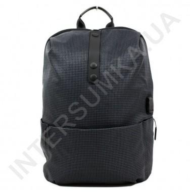 Заказать легкий городской рюкзак WALLABY 1782 dark_grey 1 отдел+usb в Intersumka.ua