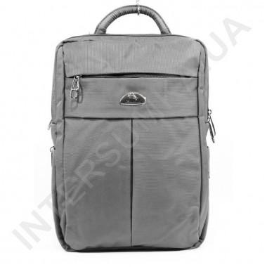 Заказать городской рюкзак WALLABY 7241 серый на 2 отдела + отдел под ноутбук+расширитель в Intersumka.ua