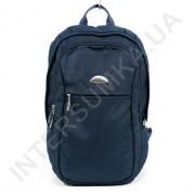 городской рюкзак WALLABY 9248_blue 2 отдела + отдел под ноутбук