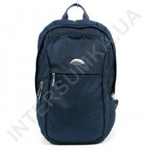 міський рюкзак WALLABY 9248_blue 2 відділа + відділ під ноутбук