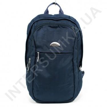 Заказать городской рюкзак WALLABY 9248_blue 2 отдела + отдел под ноутбук в Intersumka.ua
